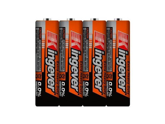 4 tužkové baterie AA 1,5 V