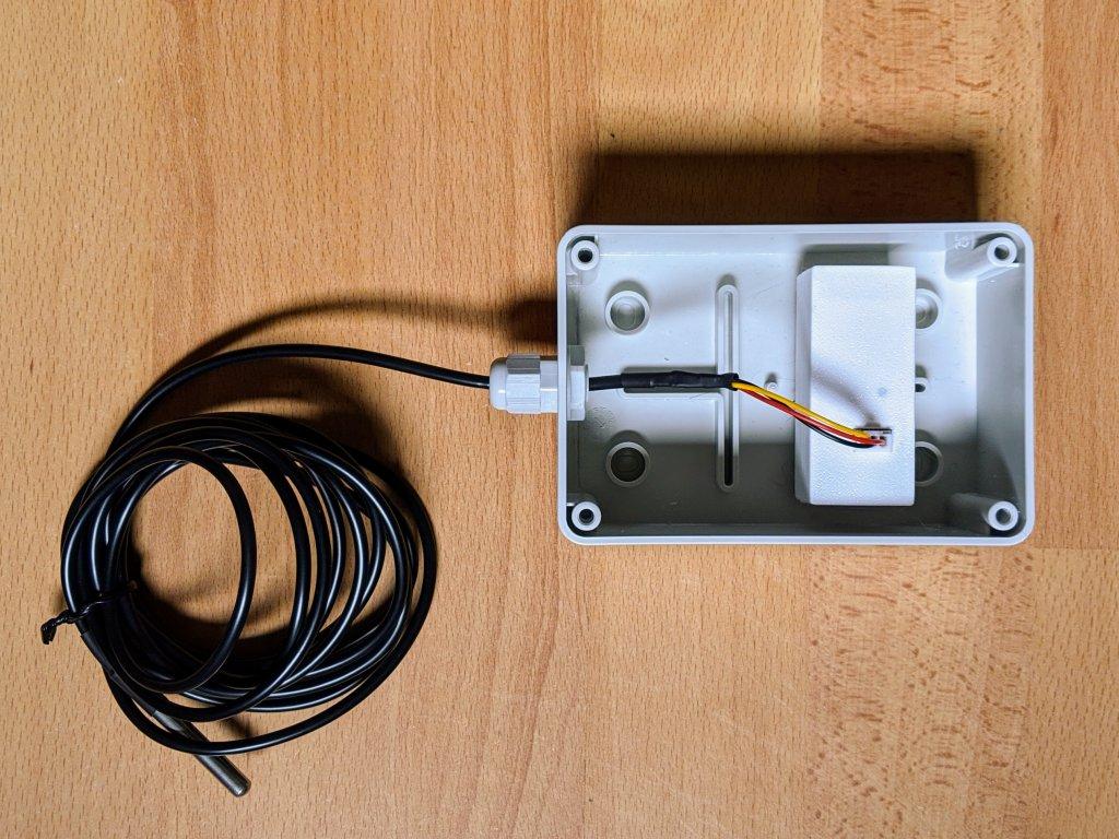 Vodotěsná krabice pro RF čidlo