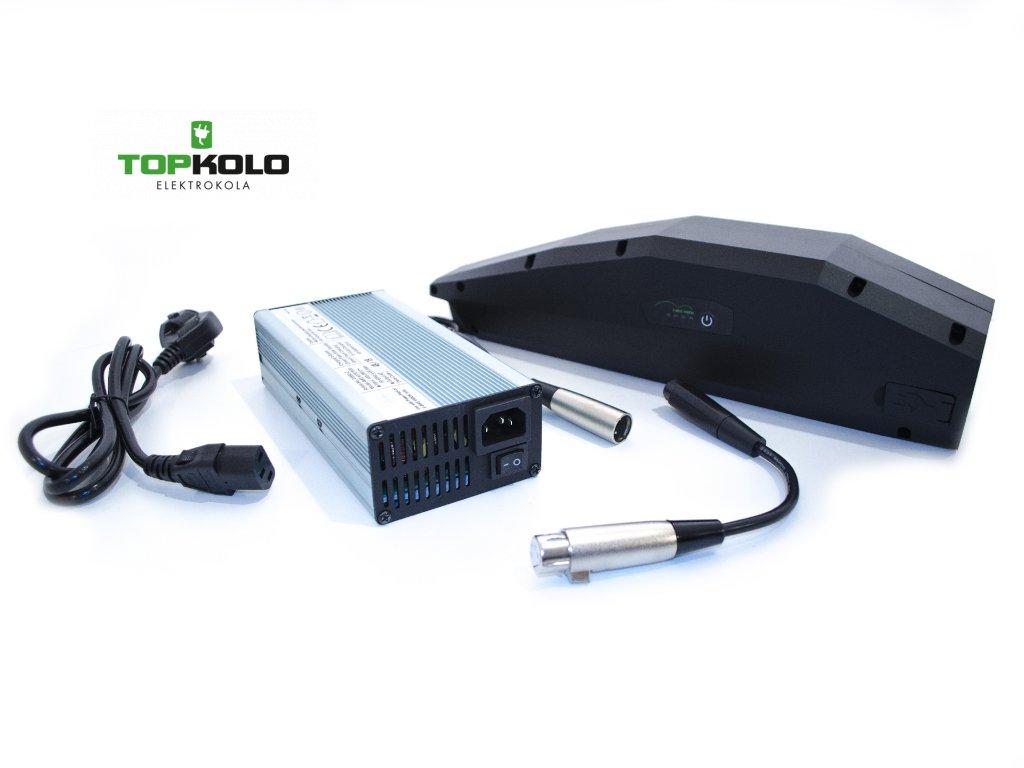 730Wh baterie + Expresní nabíječka + Redukce (Yamaha)