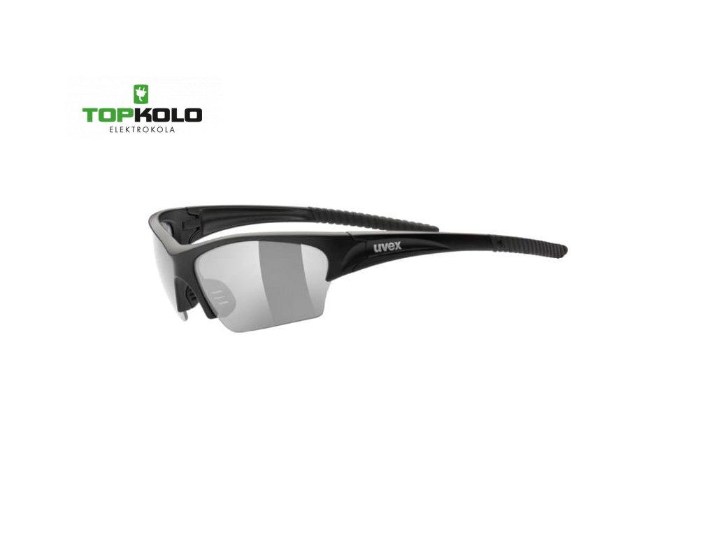 Cyklistické brýle Uvex Sunsation black mat/smoke