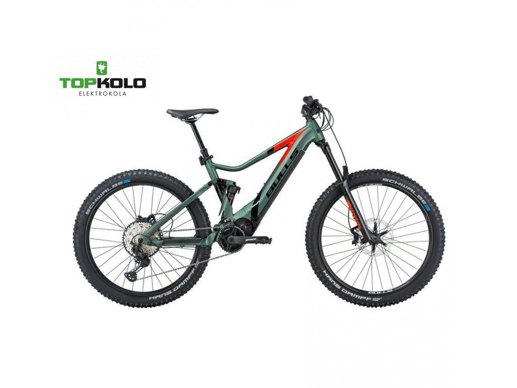 Bulls E Stream EVO AM 3 27,5 2021 green matt orange (1)