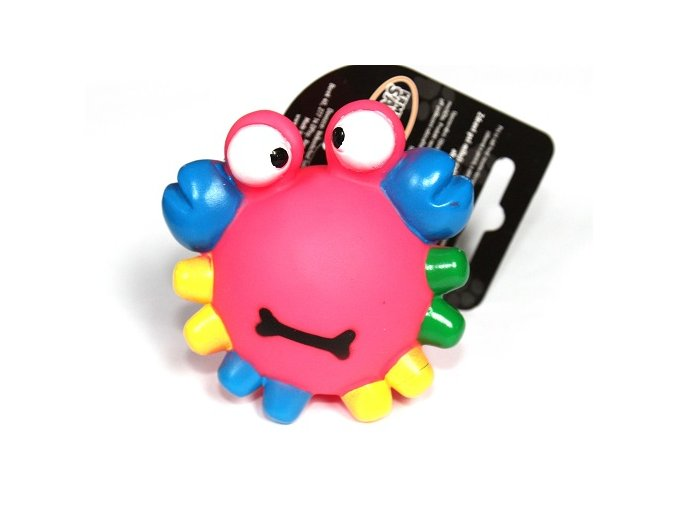 Krabík barevný VINYL 7.5cm