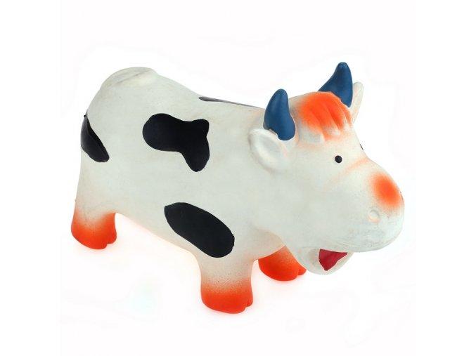 Kráva bučící (chrochtací) LATEX 18cm