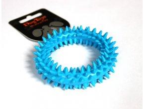Kroužek dentální modrý TPR 9x9x2.2cm