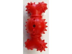 Kostička červená