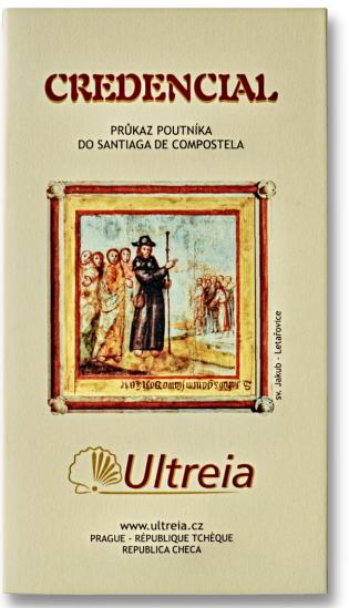 Ultreia credencial - český