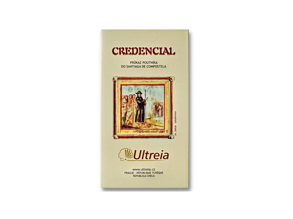 Ultreia průkaz poutníka (credencial)
