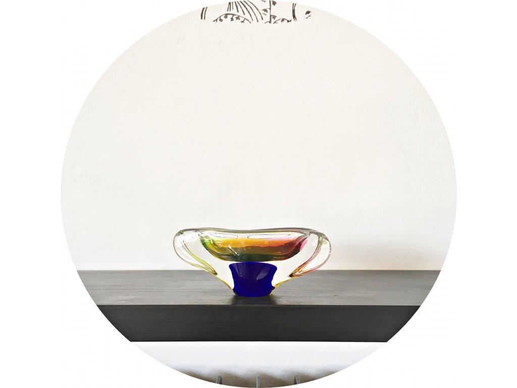 Miska z hutního skla