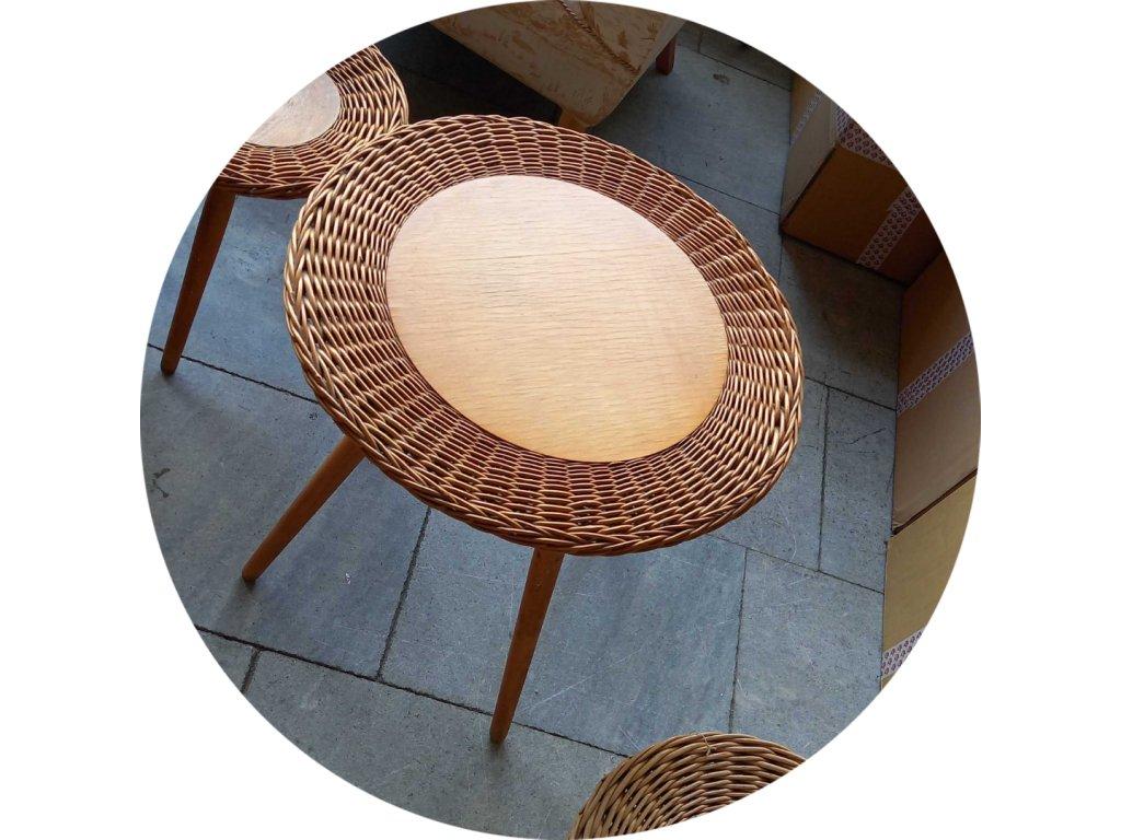 Retro stolek