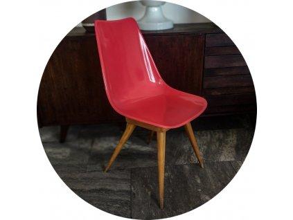 Sklolaminátová židle