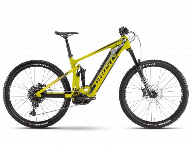 GHOST E-bikes E-Riot Trail CF Advanced B625 - Kiwi Green / Midnight Black 2021 (Velikost XL (188-196cm))