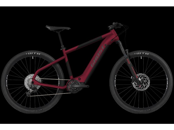 GHOST E-bikes E-Teru Advanced 29 Y630 - Dark Cherry / Midnight Black / Gray 2021 (Velikost XL (185-200cm))