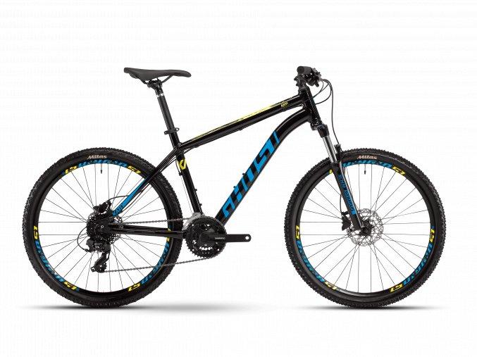 GHOST Kato Base 26 - Black / Blue / Yellow 2021 (Velikost L (175-190cm))