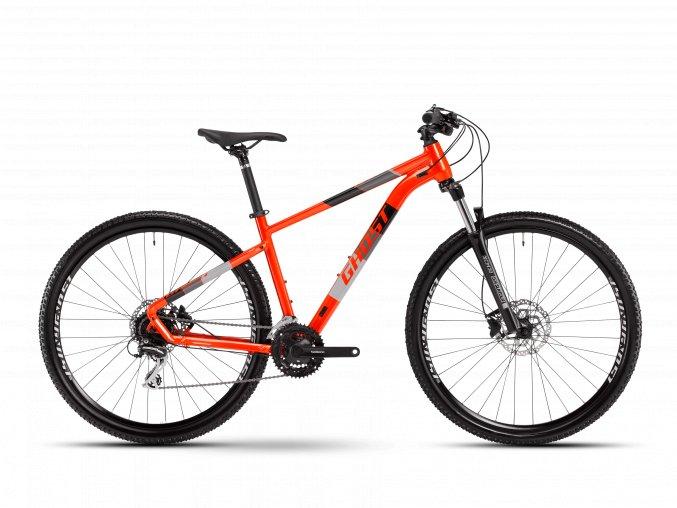 GHOST Kato Essential 29 - Red Lava / Midnight Black 2021 (Velikost XL (185-200cm))