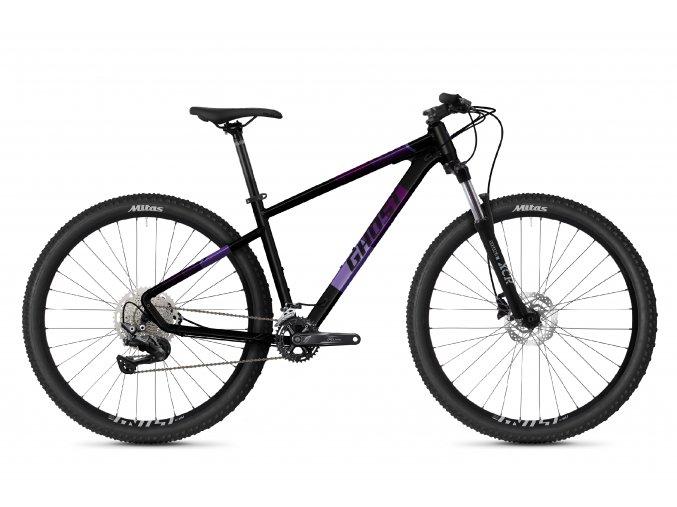 GHOST Kato Advanced 29 - Midnight Black / Purple 2021 (Velikost XL (185-200cm))