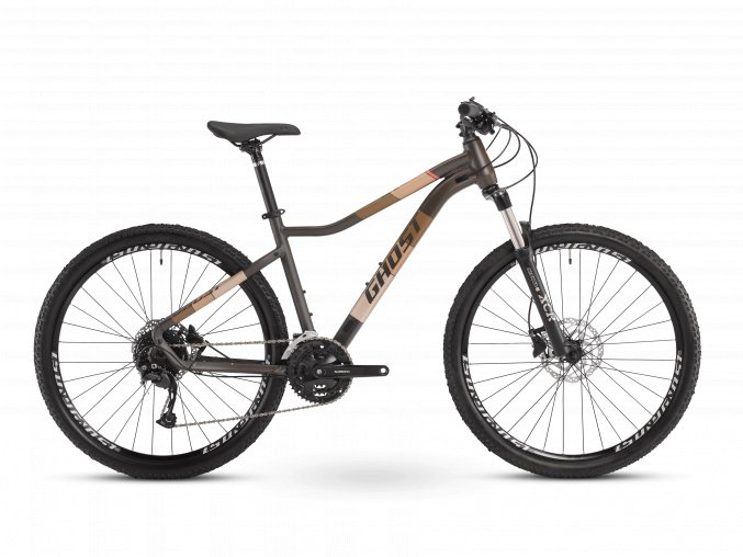 GHOST Lanao Universal 27.5 - Chocolate / Coral 2021 (Velikost M (165-180cm))