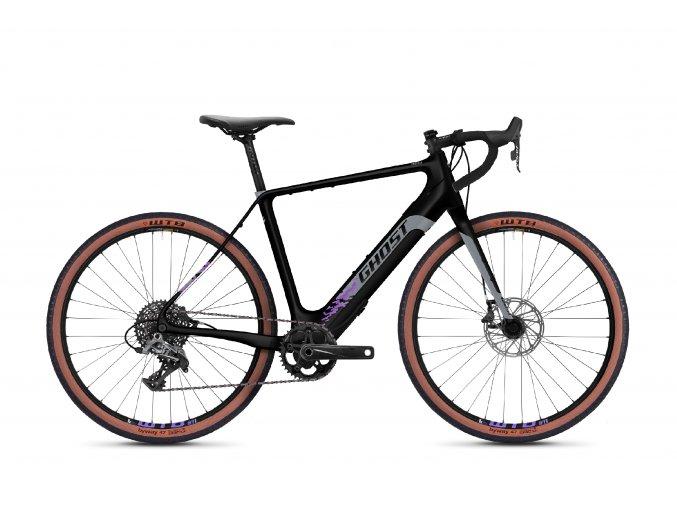 GHOST E-bikes E-Road Rage Endless 27.5 LC F250 - Midnight Black / Cool Grey / Purple 2021 (Velikost L (175-190cm))
