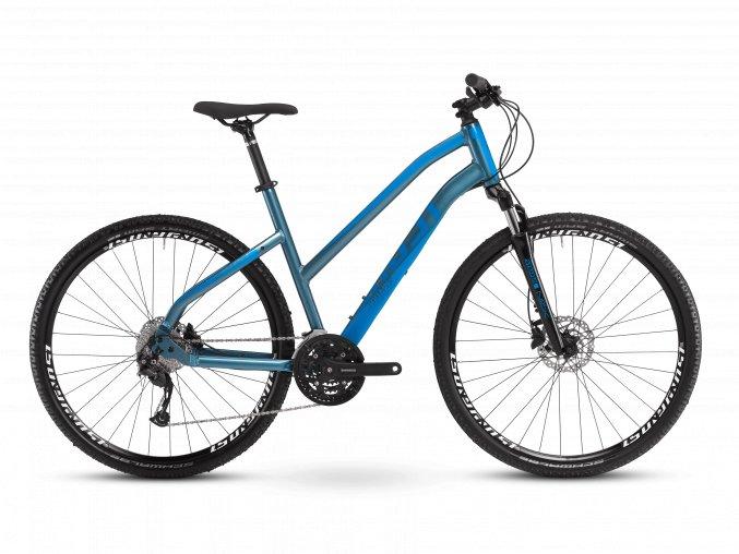 GHOST Square Cross Base Ladies - Petrol Blue / Ocean Blue 2021 (Velikost L (175-190cm))