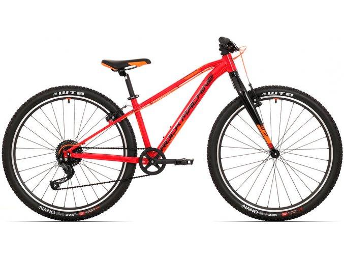 "Rock Machine Thunder 27 gloss dark red/black/orange 2021 (Velikost S"")"