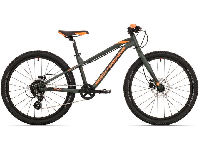 22431 rock machine blizz 24 mat khaki neon orange black 2021