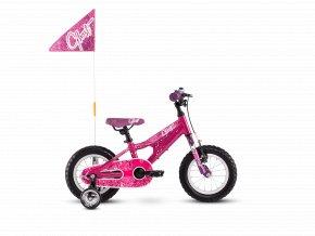 GHOST Powerkid 12 - Pink / Violet 2020 (Velikost 12)
