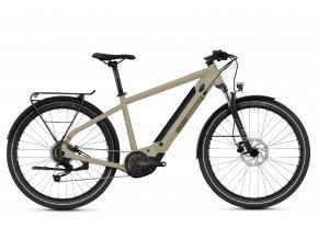 GHOST E-bikes E-Square Trekking Essential Y500 - Dust / Sand Grey 2021 (Velikost XL (185-200cm))