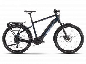 GHOST E-bikes E-Square Trekking Universal B500 - Night Blue / Blue 2021 (Velikost XL (185-200cm))