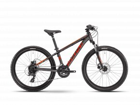 GHOST Kato Essential 24 - Dark Silver / Red / Orange 2021 (Velikost 24)