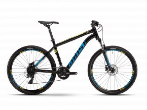 GHOST Kato Base 26 - Black / Blue / Yellow 2021 (Velikost L (175-190cm))