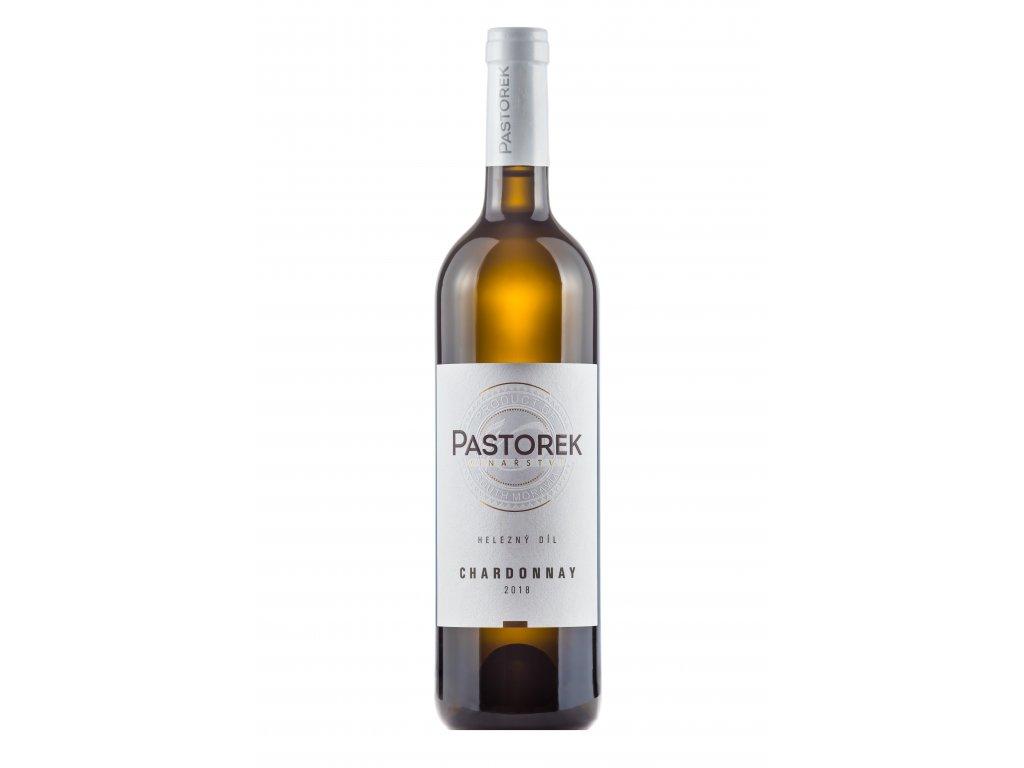 Chardonnay zrálo v sudech 2018