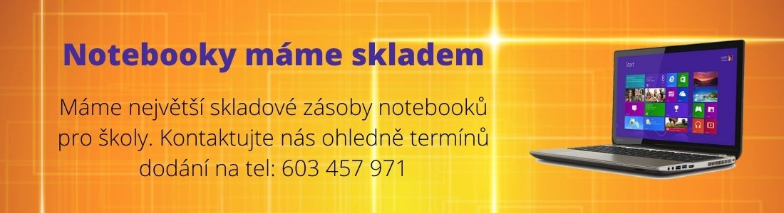 Notebooky skladem