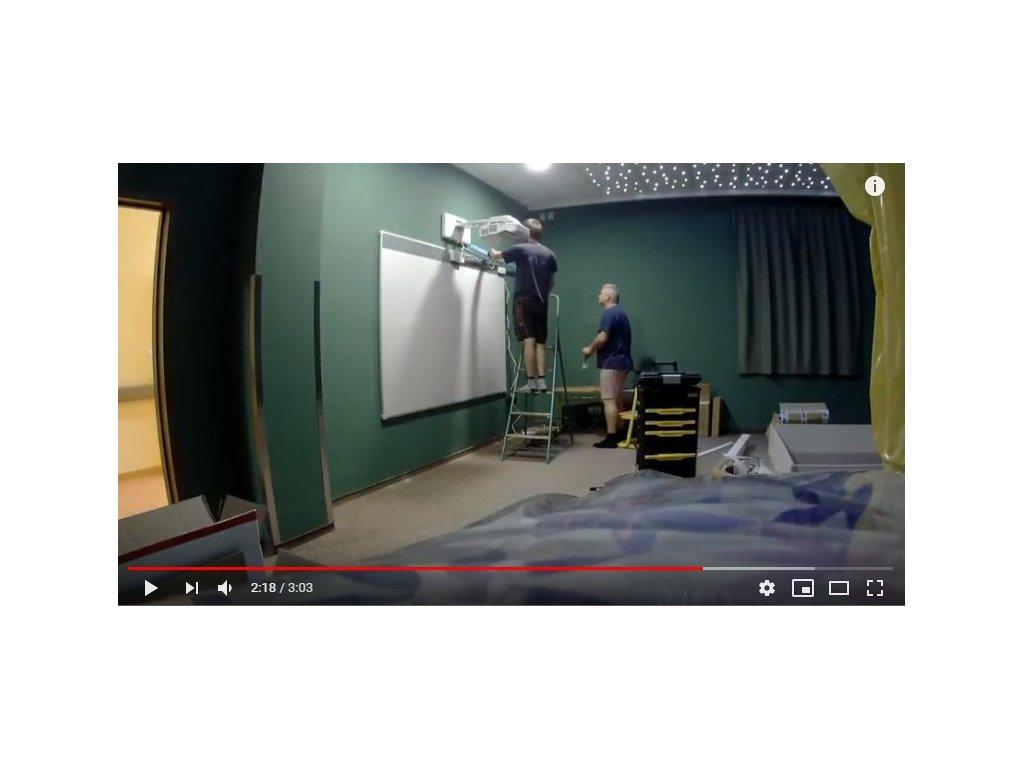montáž Epson interaktivní pracoviště