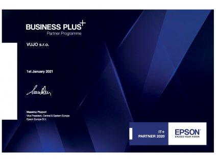 VUJO s.r.o. certifikace EPSON Business Plus