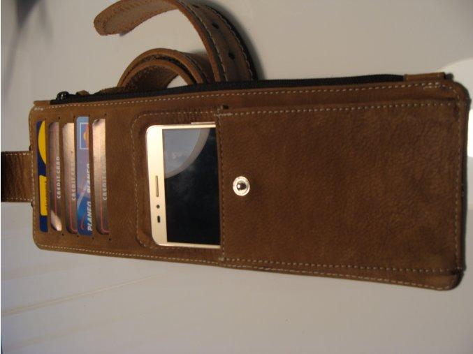 Pánska taška přes rameno a opasek