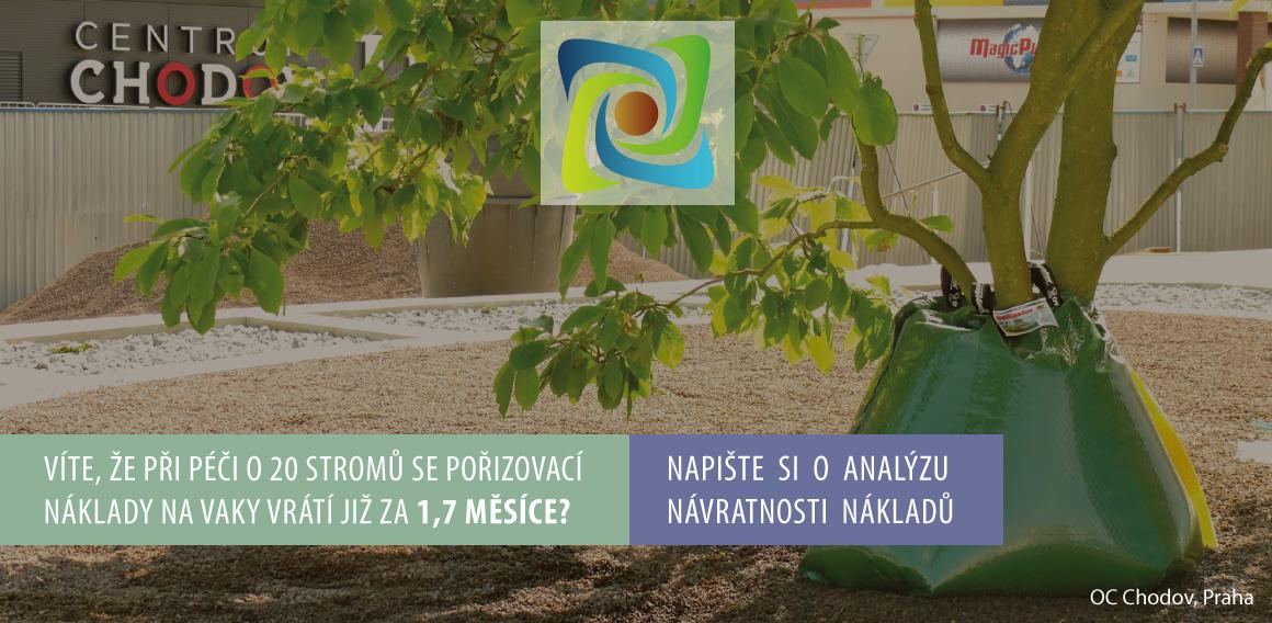Zavlažovací vaky Treegator Česká republika