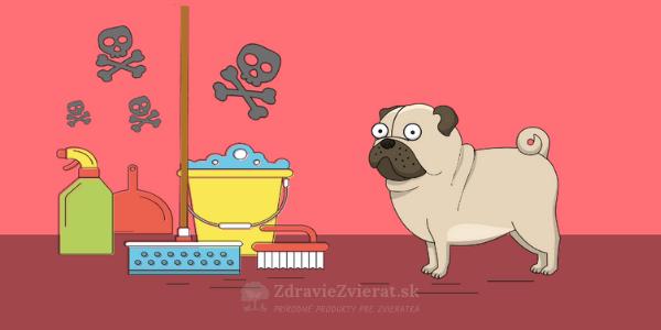 Môžu čistiace prostriedky ublížiť vášmu zvieratku? (+4 recepty na domáce čističe)