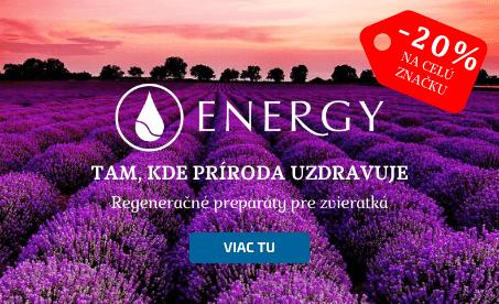 Energy -20 % zľava na celú značku