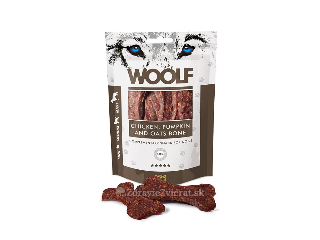 woolf chicken oat pumkin bone