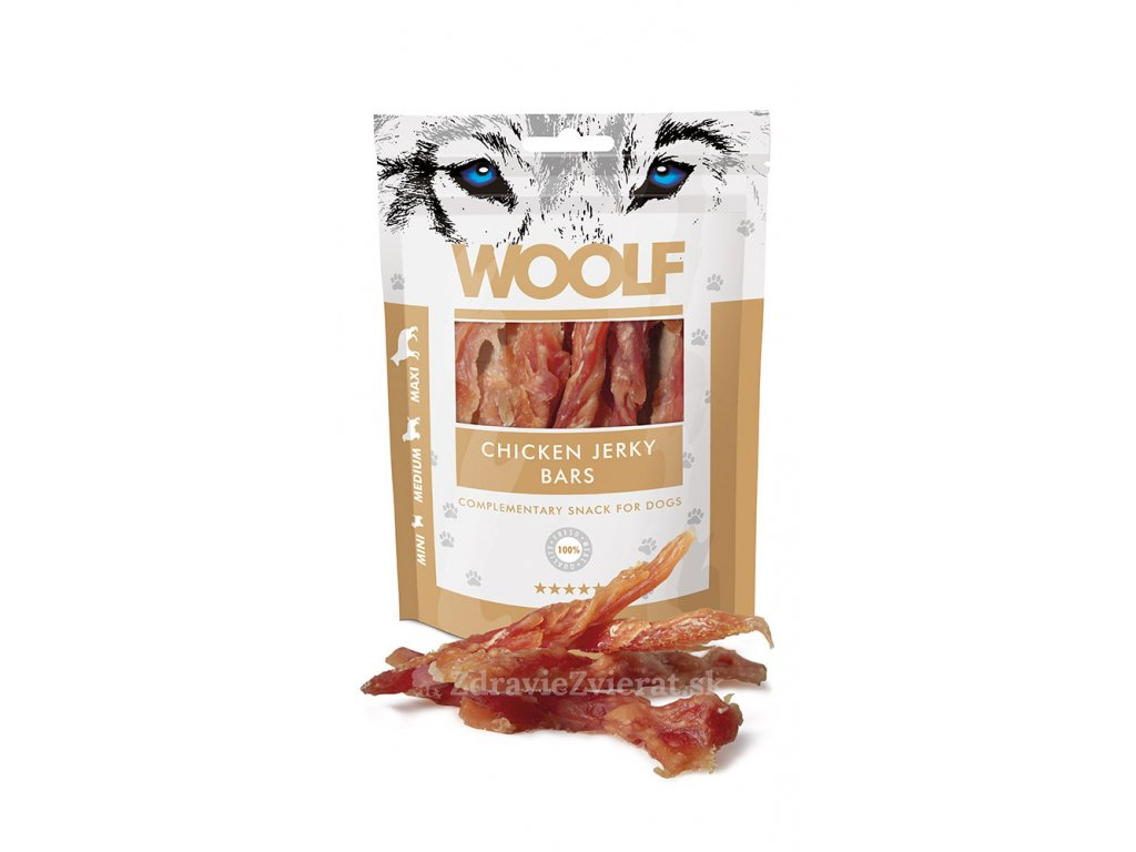 woolf chicken jerky