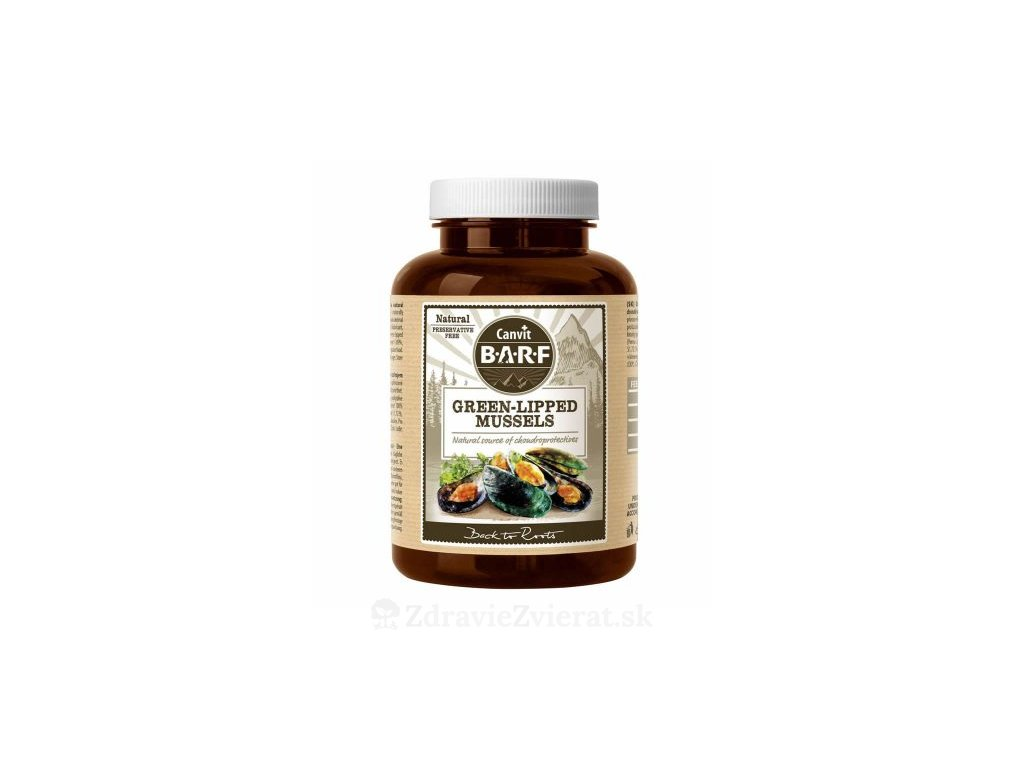 canvit barf green lipped mussel plv 180 g