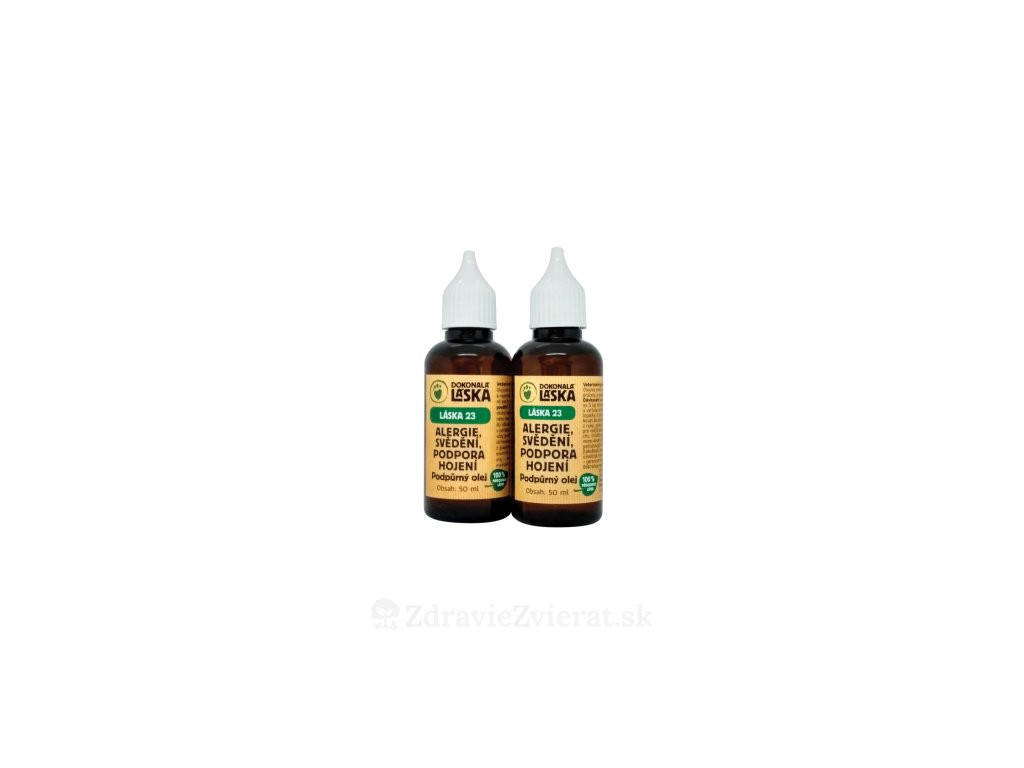 dokonala laska alergia hojenie svrbenie podporny olej 100 ml