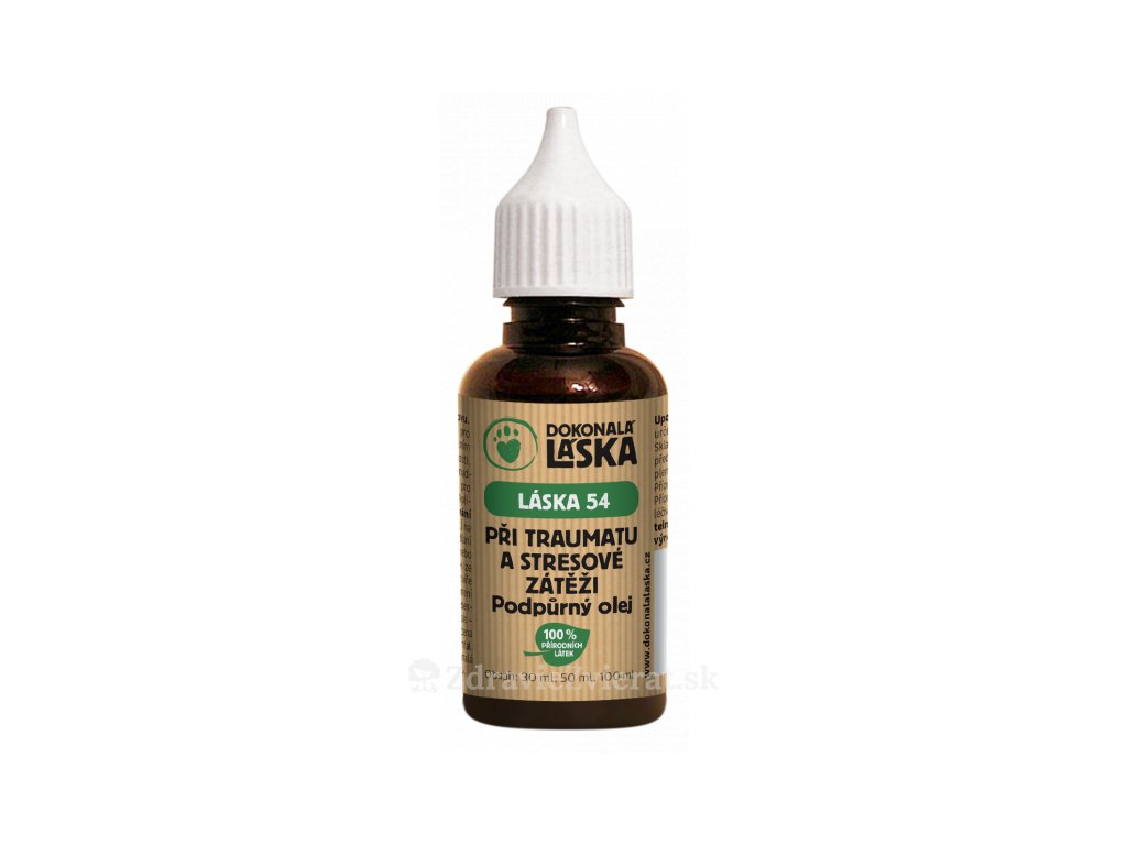 dokonala laska pri traume a stresovej zatazi podporny olej 30 ml