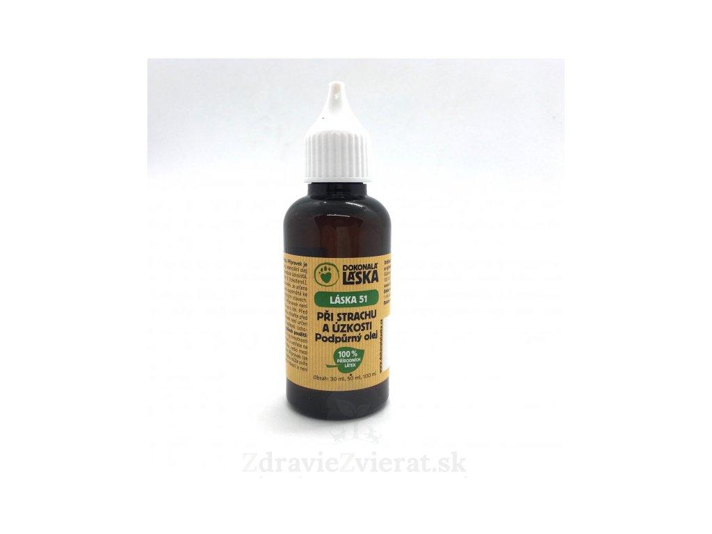 dokonala laska podporny olej pri strachu a uzkosti 50 ml