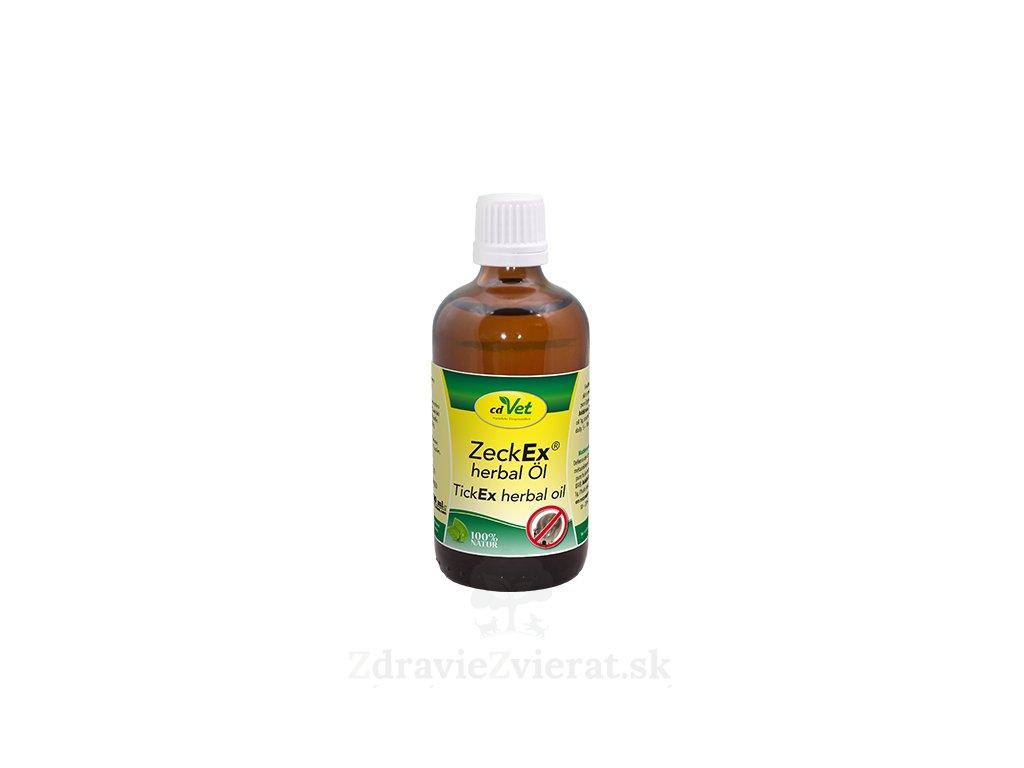 cdvet olej zeckex herbal 100 ml