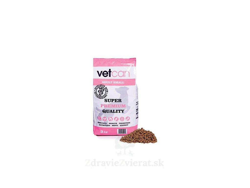 vetcan adult small 3kg