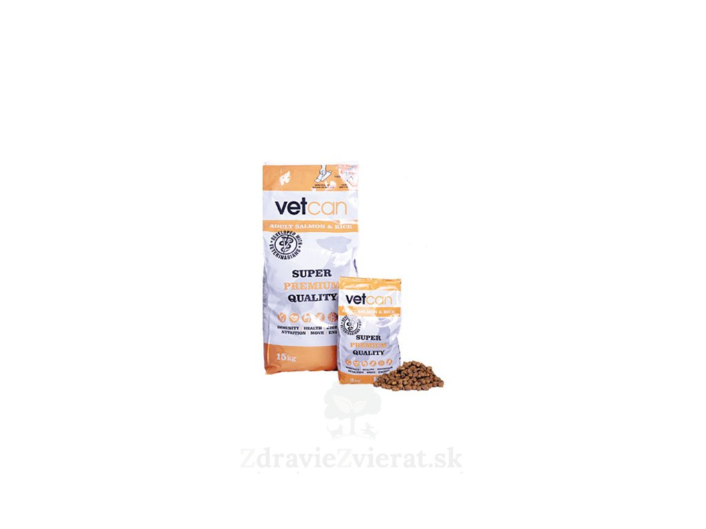 vetcan adult salmon rice