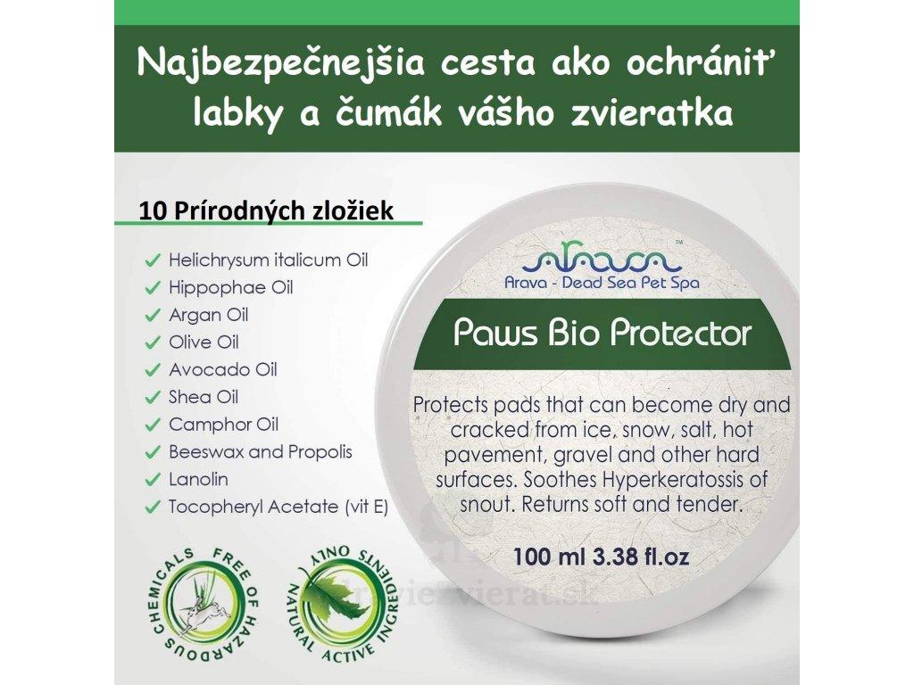 arava bio ochranny krem na labky