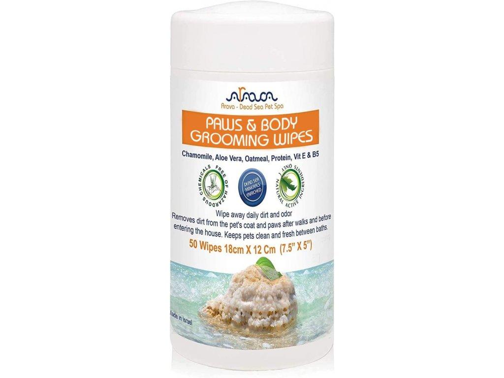 arava bylinne utierky na labky a telo