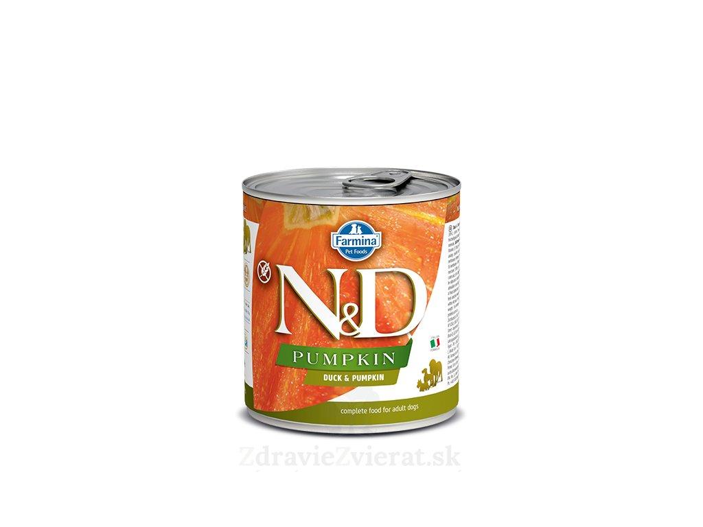 farmina n d dog pumpkin duck konzerva 285 g
