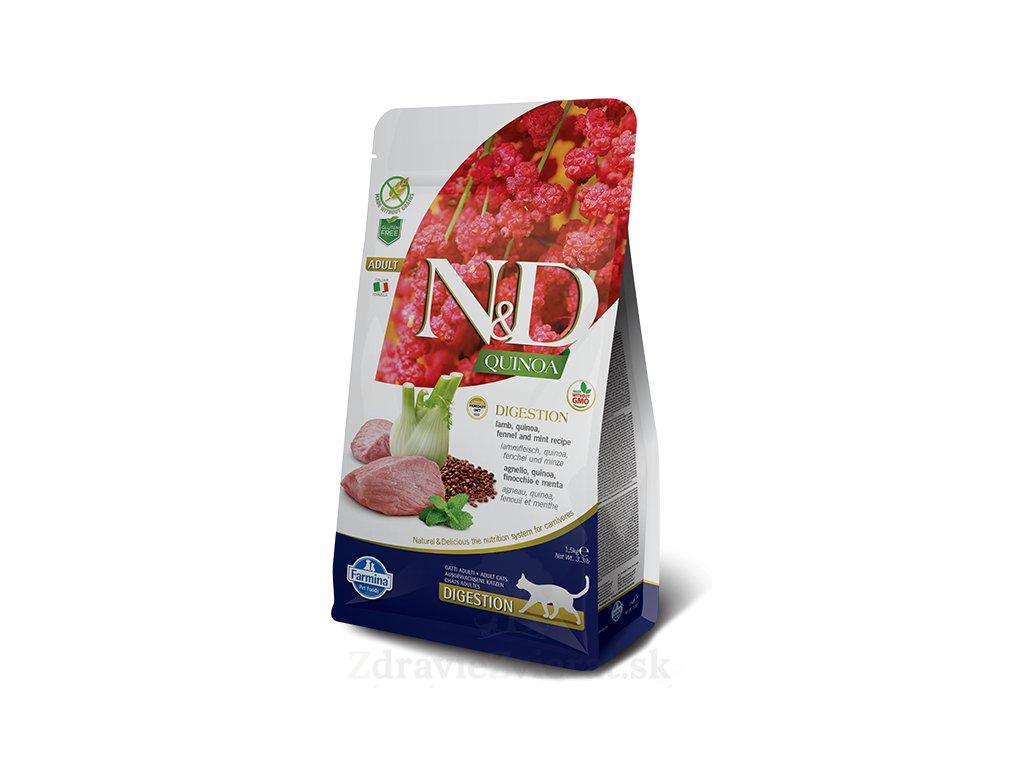 farmina n d cat quinoa digestion lamb